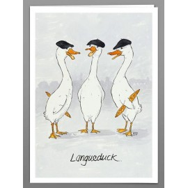Langueduck x 5 greeting cards