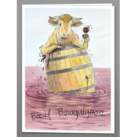 Boeuf Bourguignon greeting cards