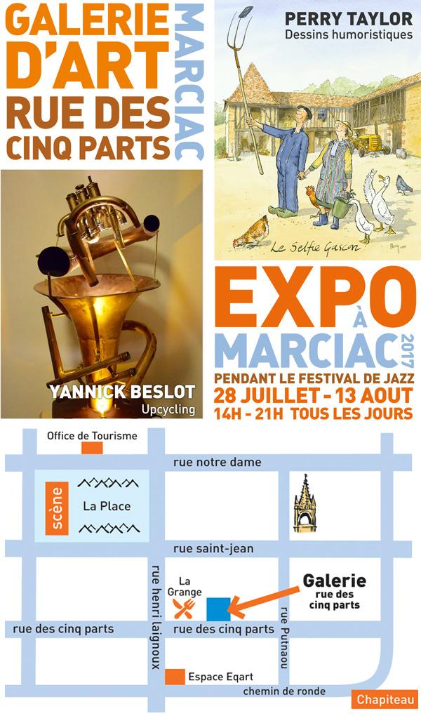 Marciac Gallery 2017