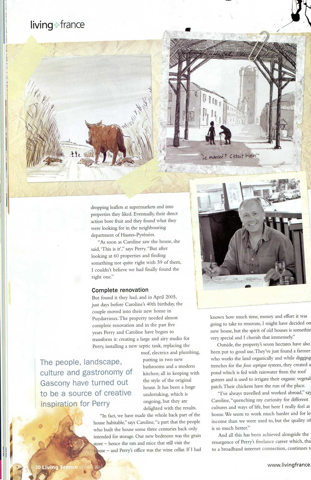 Living France magazine page 2