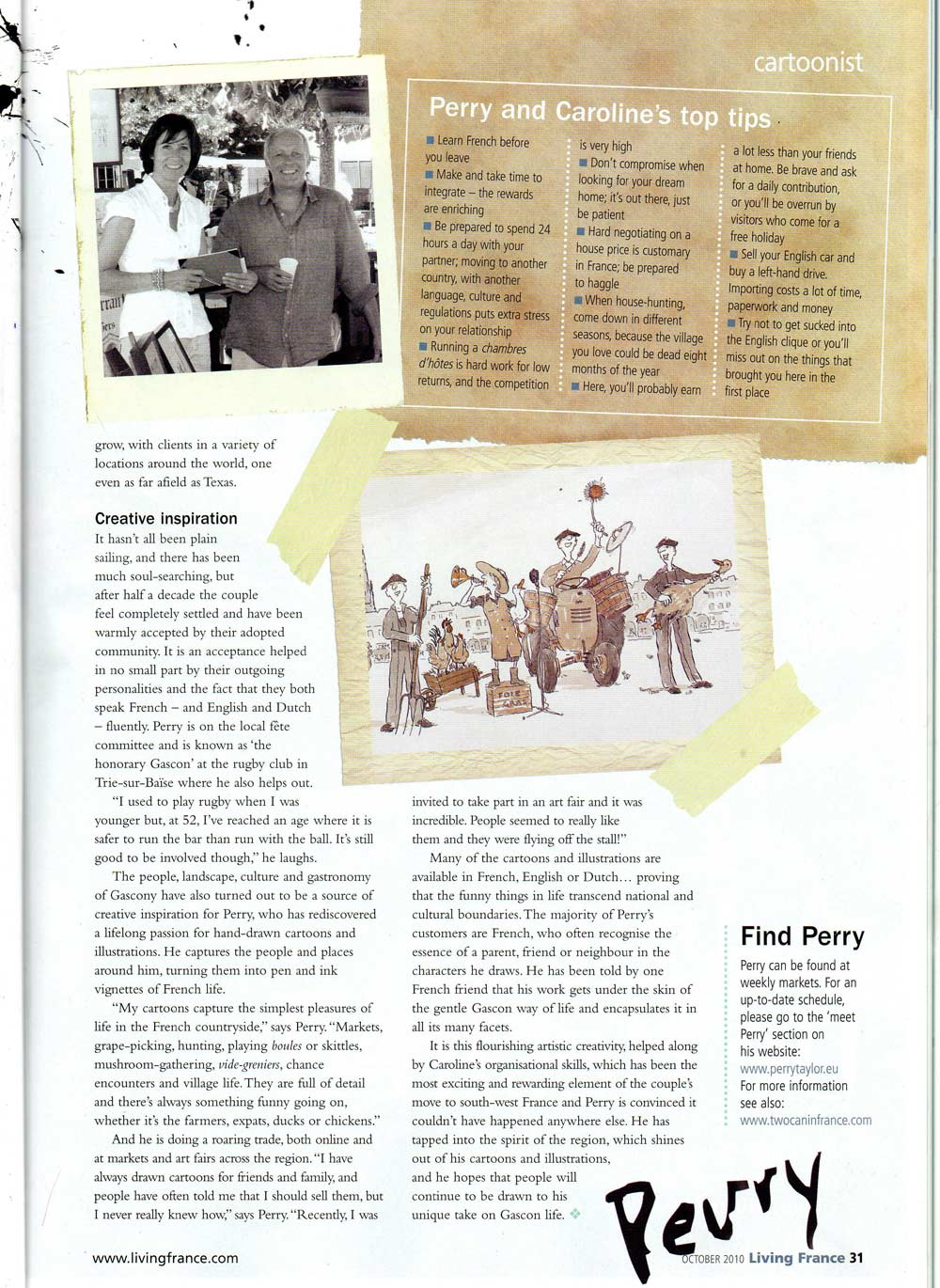 Living France magazine page 3