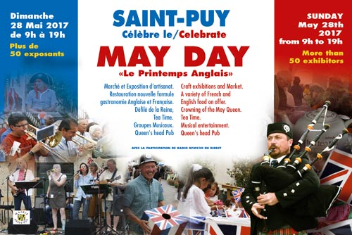 St Puy (32) May Day 28 mai 2017