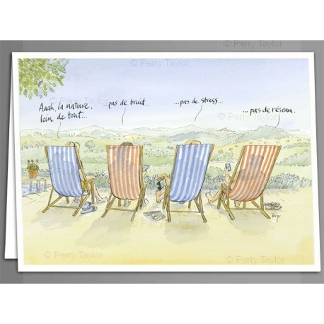 'No signal' greeting cards