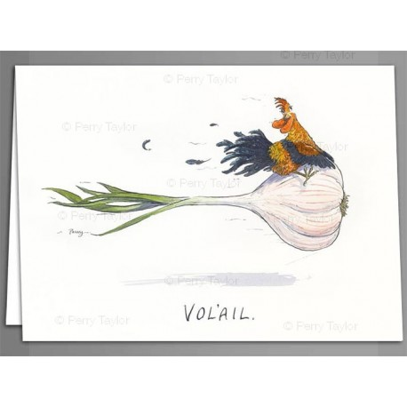 'Vol-ail' greeting cards