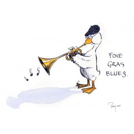 Foie Gras Blues-Duck trumpet