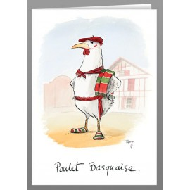 Poulet Basquaise - greeting cards