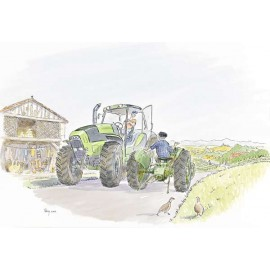 Two Tractors