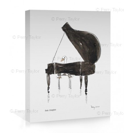 Duck Ellington canvas print