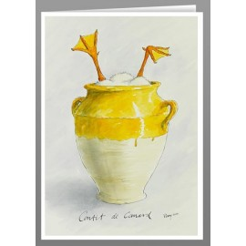 Confit de Canard greeting cards
