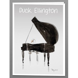 Duck Ellington greeting cards