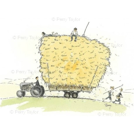 Tractor Hay Bale
