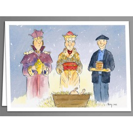 Three Kings foie gras, greeting cards