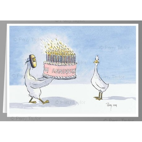 Birthday Candles X5 Greeting Cards