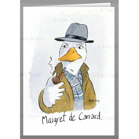 Maigret  greeting cards
