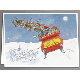 Convoi Exceptionnel Christmas cards