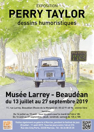 exposition Musee Larrey, Beaudéan 65