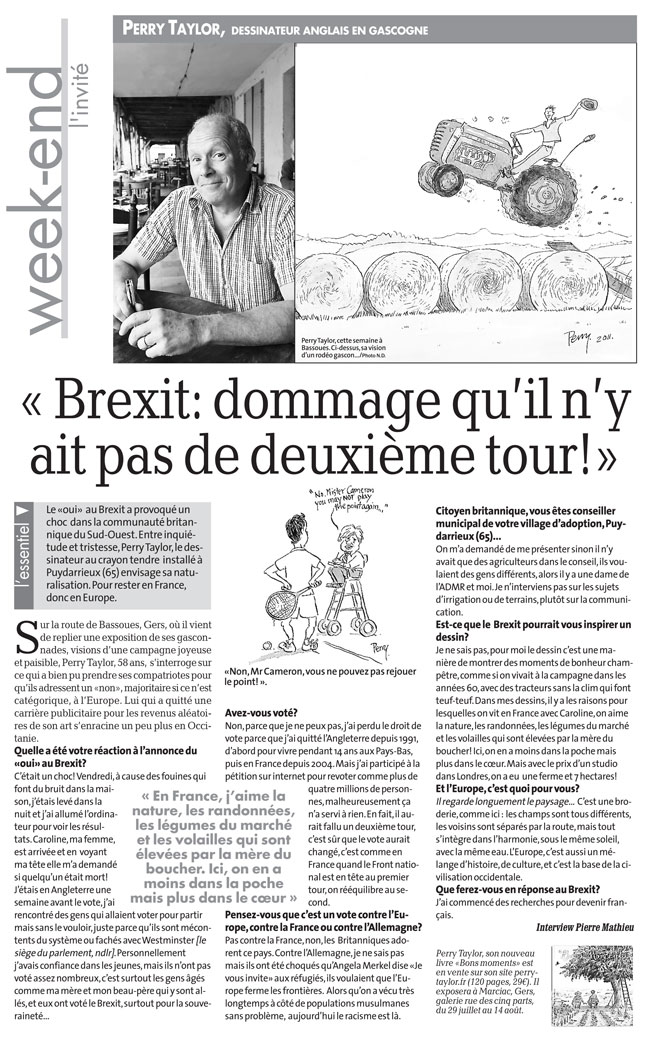 Article about Brexit