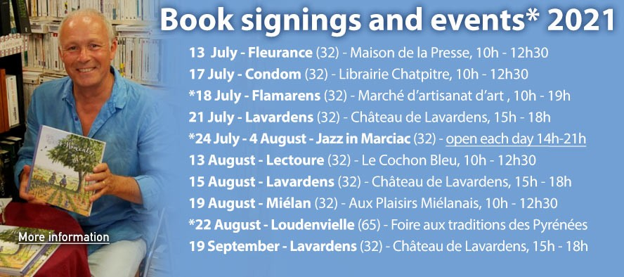 Perry's book signings and other events 2021