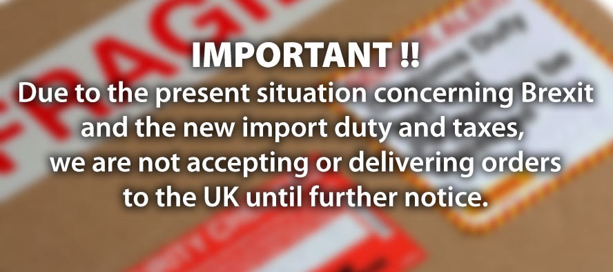 No delivery to the UK